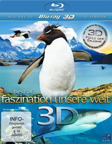 Blu-ray »Best of Faszination Unsere Welt (Blu-ray 3D)«