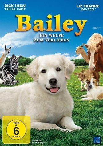 DVD »Bailey - Ein Welpe zum Verlieben«