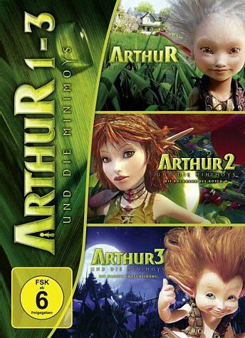 DVD »Arthur und die Minimoys 1-3 (3 Discs)«