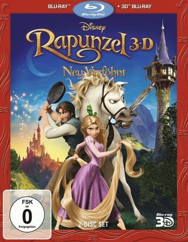 Blu-ray »Rapunzel - Neu verföhnt, 1 Blu-ray 3D +...«