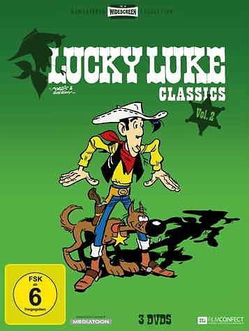 DVD »Lucky Luke - Classics, Vol. 2 (Folge 12-22) (3...«