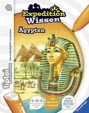 Gebundenes Buch »Ägypten / tiptoi® Expedition Wissen«