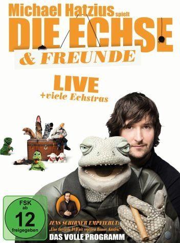 DVD »Michael Hatzius - Die Echse & Freunde: Live«