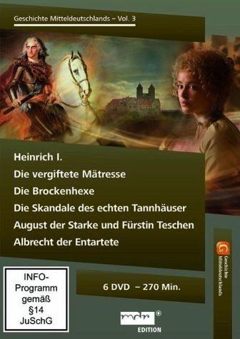 DVD »Die Geschichte Mitteldeutschlands, Vol. 3 (2...«