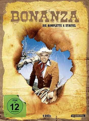 DVD »Bonanza - Die komplette 08. Staffel (9 Discs)«