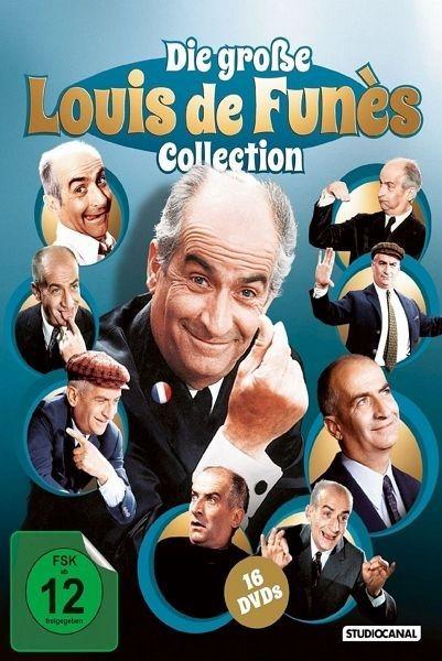 DVD »Die große Louis de Funès Collection (16 Discs)«