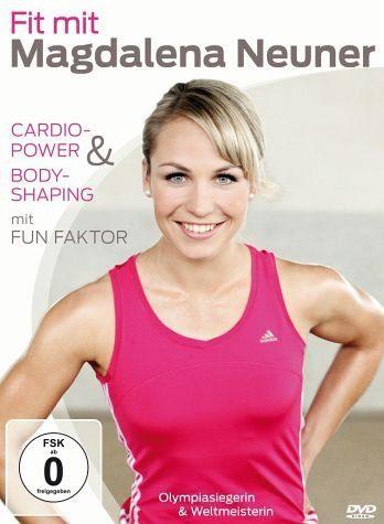 DVD »Fit mit Magdalena Neuner - Cardio-Power &...«