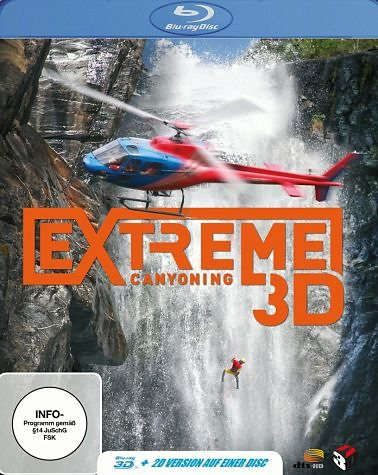 Blu-ray »Extreme Canyoning 3D (Blu-ray 3D)«