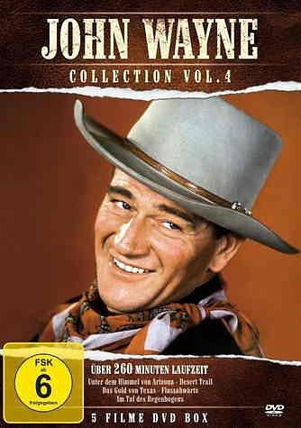 DVD »John Wayne Collection Vol. 4 (5 Discs)«
