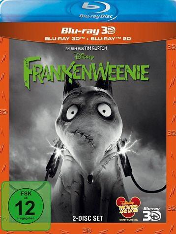 Blu-ray »Frankenweenie 3D, 1 Blu-ray«