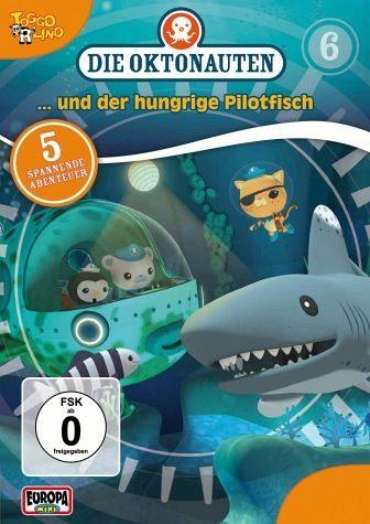 DVD »Die Oktonauten... und der hungrige Pilotfisch«