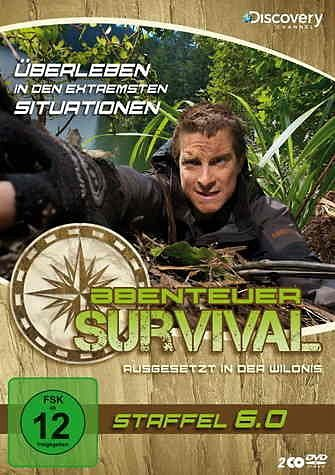 DVD »Abenteuer Survival - Staffel 6.0 (2 Discs)«