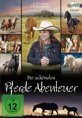 DVD »Die schönsten Pferde Abenteuer (3 Discs)«