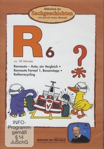 DVD »Bibliothek der Sachgeschichten - (R6) Rennauto«