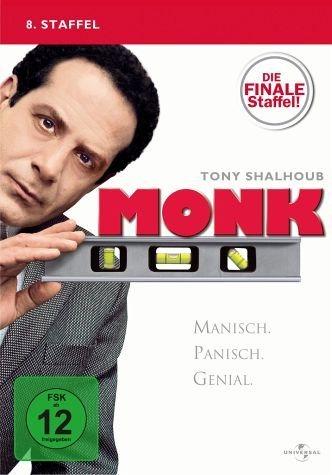 DVD »Monk - 8. Staffel: Die finale Staffel! (4 Discs)«