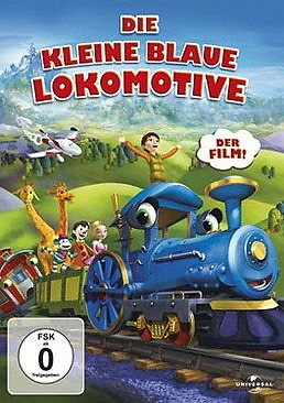 DVD »Die kleine blaue Lokomotive«