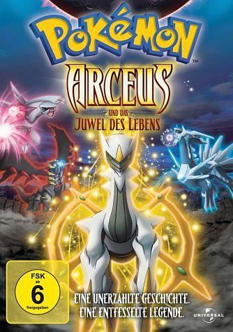 DVD »Pokémon - Arceus und das Juwel des Lebens«
