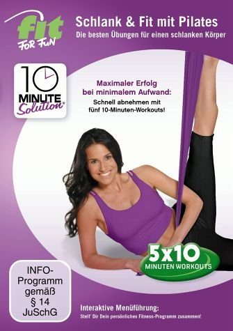 DVD »Fit for Fun - 10 Minute Solution: Schlank &...«