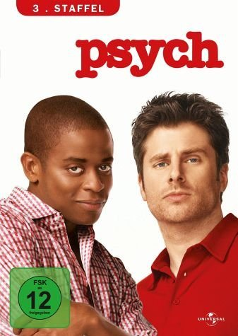 DVD »Psych - 3. Staffel (4 Discs)«