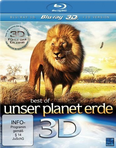Blu-ray »Best of Unser Planet Erde (Blu-ray 3D)«