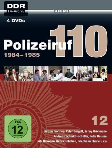 DVD »Polizeiruf 110 - Box 12 (4 Discs)«