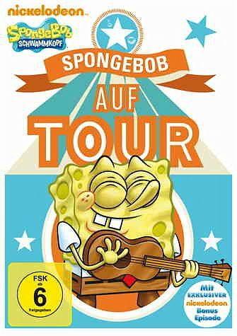 DVD »SpongeBob Schwammkopf - SpongeBob auf Tour«