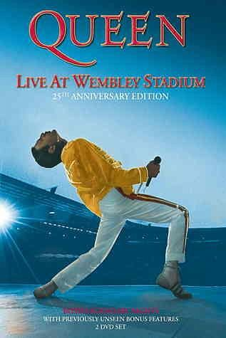 DVD »Queen - Live at Wembley Stadium (2 Discs)«
