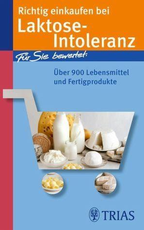 Broschiertes Buch »Richtig einkaufen bei Laktose-Intoleranz«