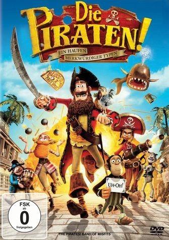DVD »Die Piraten! - Ein Haufen merkwürdiger Typen«