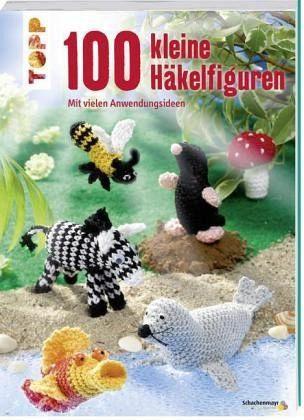 Broschiertes Buch »100 kleine Häkelfiguren«