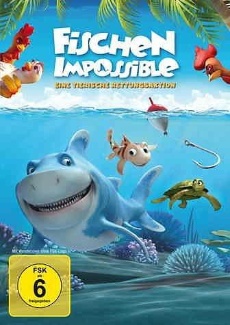 DVD »Fischen Impossible - Eine tierische...«