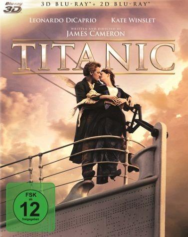 Blu-ray »Titanic 3D Blu-ray 3D + 2D«