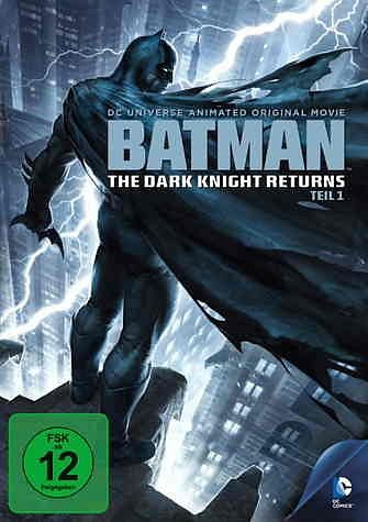 DVD »Batman: The Dark Knight Returns, Teil 1«