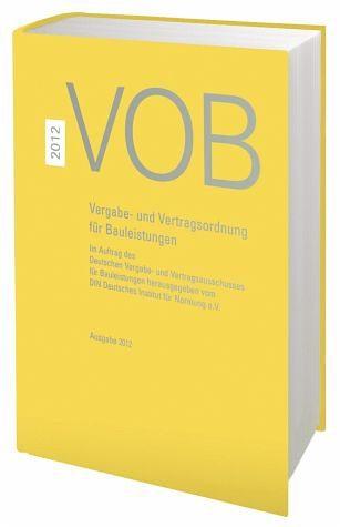 Buch mit Leinen-Einband »VOB 2012 Gesamtausgabe«