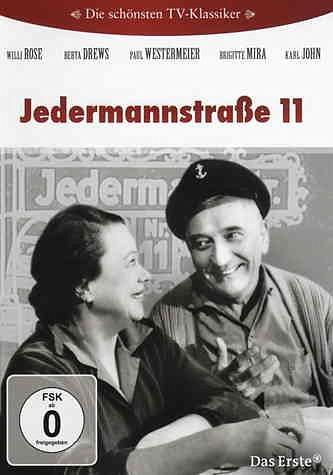 DVD »Jedermannstraße 11 - Die komplette Serie (4...«