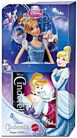 DVD »Cinderella, 1 DVD + Mattel Puppe (Diamond...«
