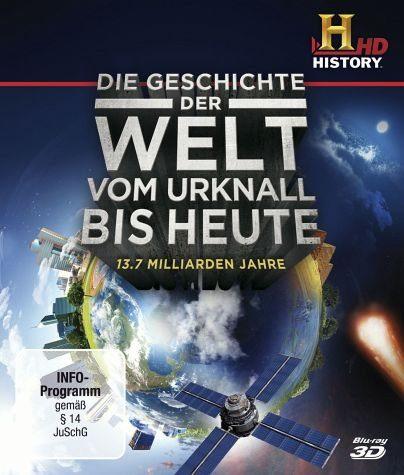 Blu-ray »Die Geschichte der Welt - Vom Urknall bis...«