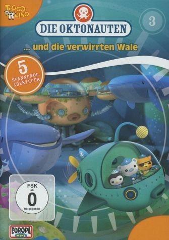 DVD »Die Oktonauten... und die verwirrten Wale«