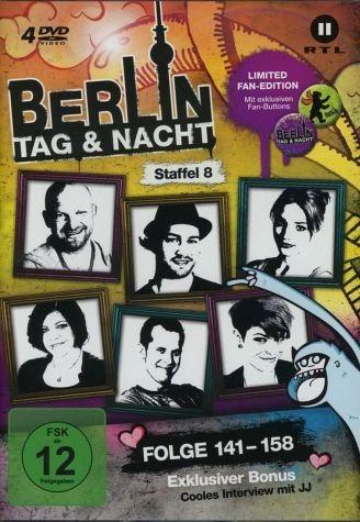 DVD »Berlin - Tag & Nacht - Staffel 8. Fan Edition«