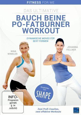 DVD »Das ultimative Bauch Beine Po-Fatburner Workout«