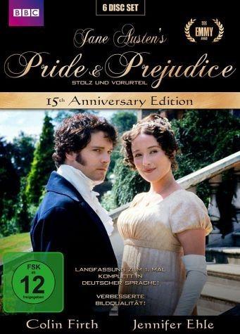 DVD »Jane Austen's Pride & Prejudice - 15th...«
