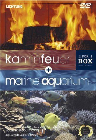 DVD »Kaminfeuer + Marine Aquarium (2 Discs)«