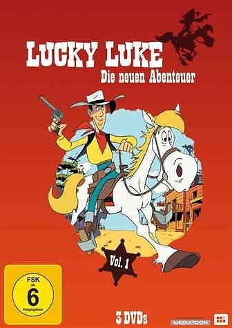 DVD »Lucky Luke - Die neuen Abenteuer, Vol. 1 (3...«
