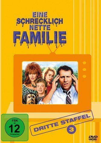 DVD »Eine schrecklich nette Familie - Dritte...«