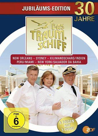 DVD »Das Traumschiff - Jubiläums-Edition (3 Discs)«