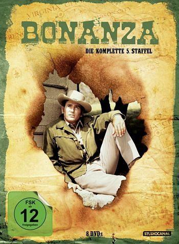 DVD »Bonanza - Die komplette 05. Staffel (8 Discs)«