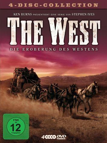 DVD »The West - Die Eroberung des Westens (4 Discs)«
