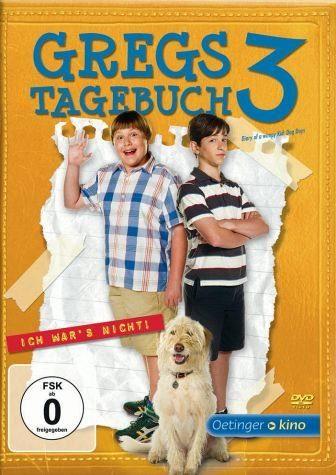DVD »Gregs Tagebuch 3 - Ich war's nicht«