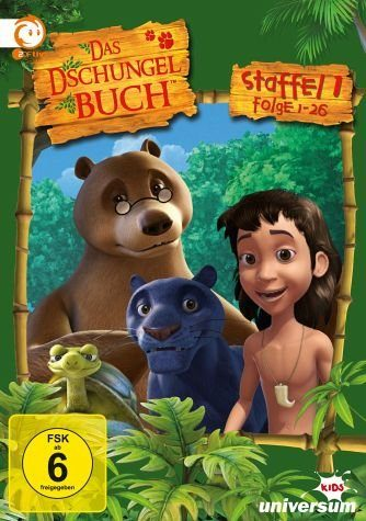 DVD »Das Dschungelbuch - Staffel 1.1 (Folge 01-26)...«