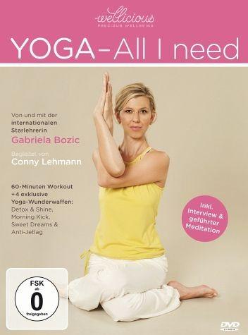 DVD »Yoga - All I Need«